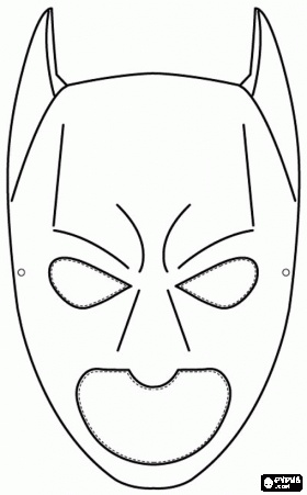 superhero mask template for kids - batman mask coloring page batman pinterest batman