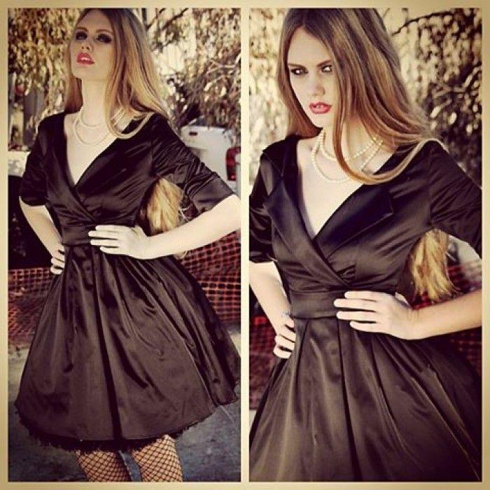 Pretty In Punk Collar Dress (Black) - Pretty In Punk - Collections