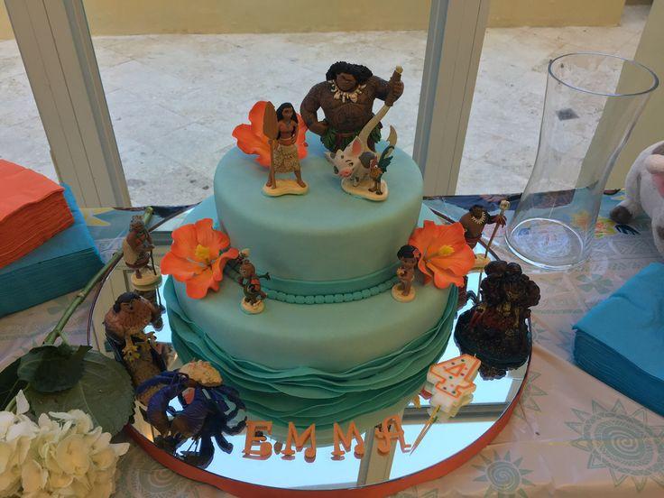 Cake Design Moana : 229 best moana birthday theme images on Pinterest ...