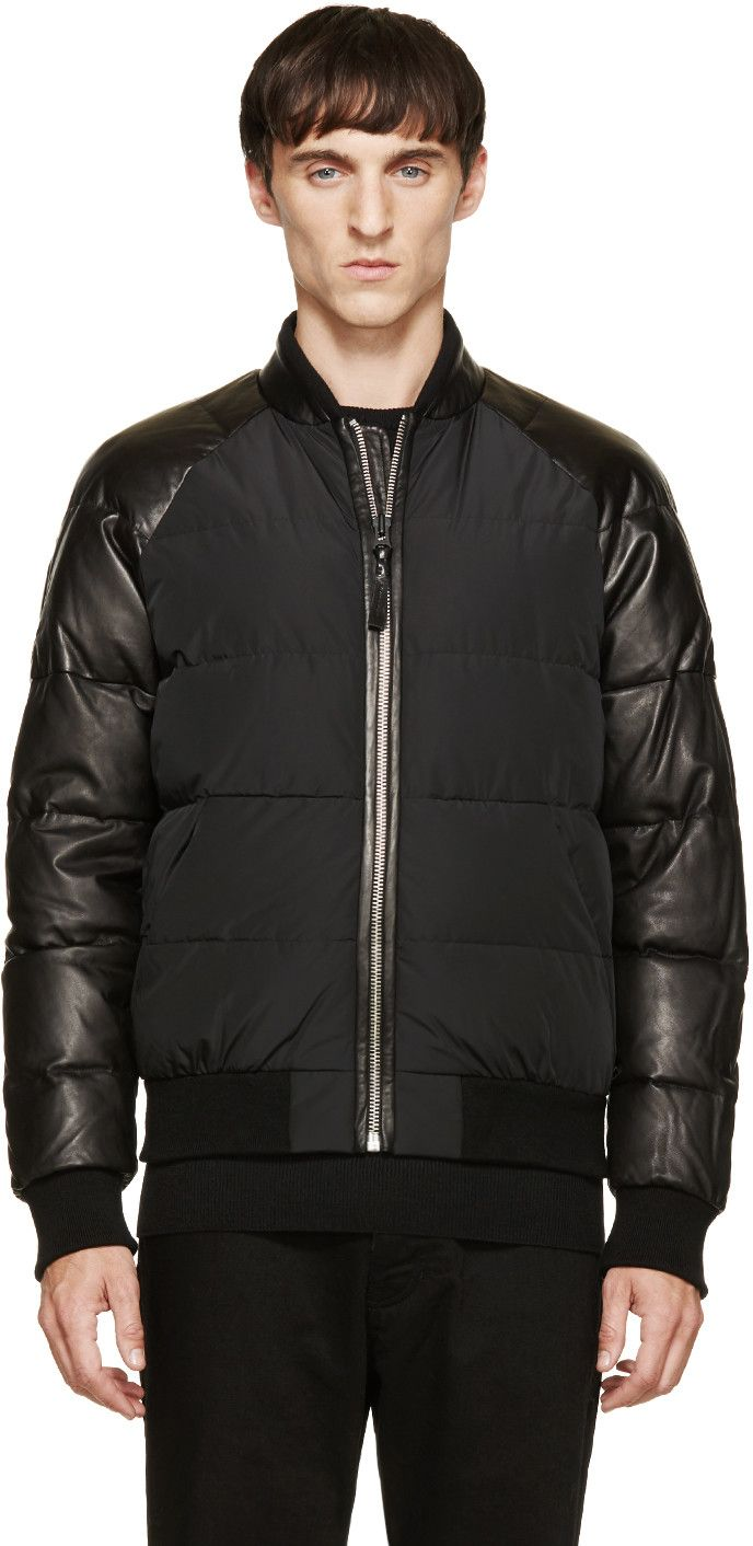 Canada Goose jackets online official - Black Down Halifax Parka | Bomber Jackets, Bombers and Mens Products