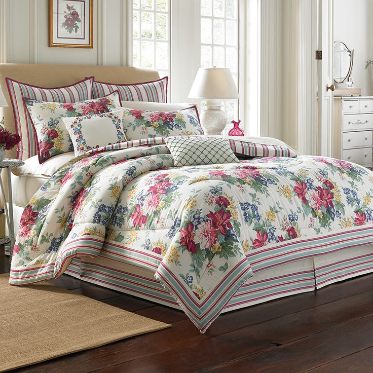 Laura ashley floral sheets-4694
