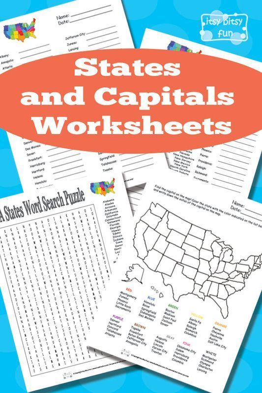 Learning Tools 50states.com - States and Capitals