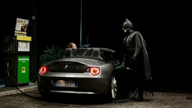 When Superheroes (and oddly some Disney characters) fall on hard times. Series of images by Benjamin Béchet
