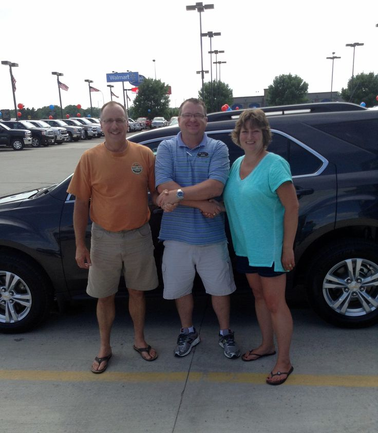 Rhonda & Doug Zahradka of Brookings love their new 2015 Chevy Equinox. Especially the 32 mpg highway!   w/ Sales Consultant Ryan Overby #StopDreamingStartDriving