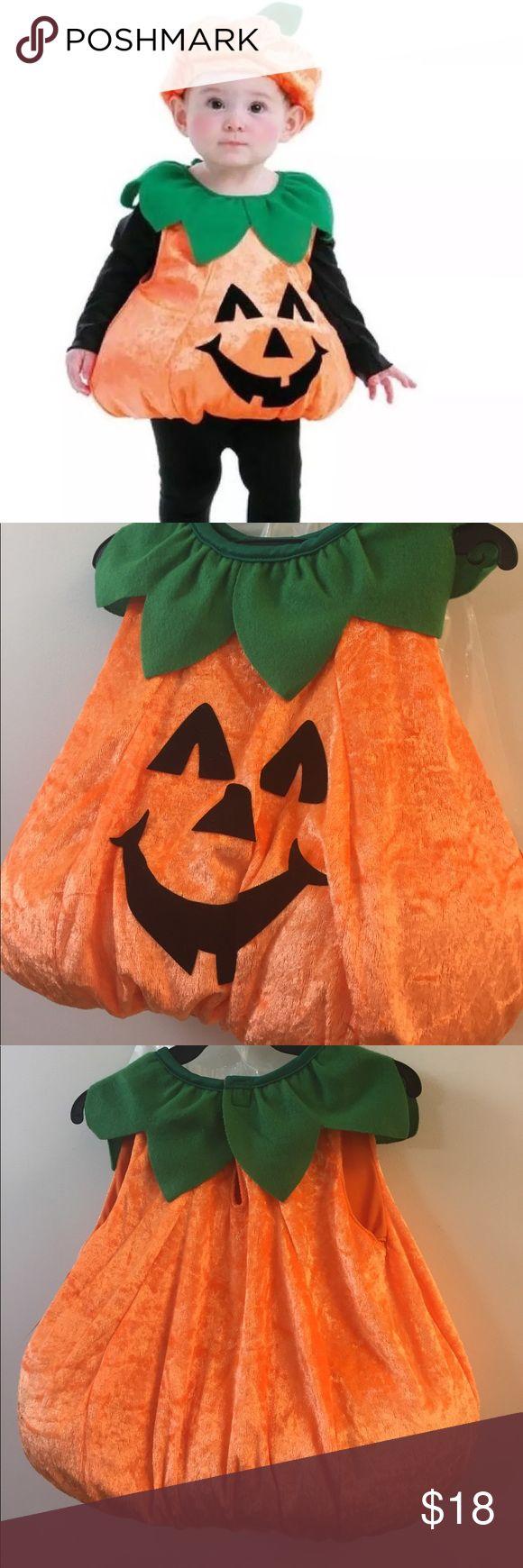 Pumpkin Vest Toddler Kids Costume Sz 1-2 Years Pumpkin Vest Toddler Kids Costume Size 1-2 Years  Includes:  • boby  • Hat  • Shoes Costumes Halloween