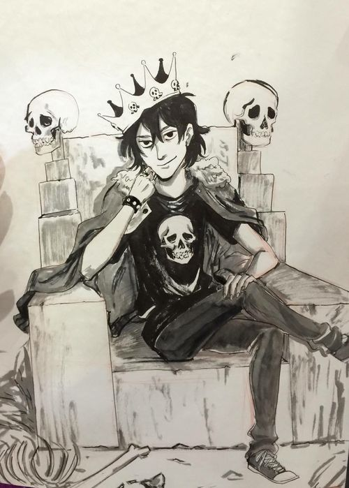 nico di angelo, percy jackson, and ghost king image ...