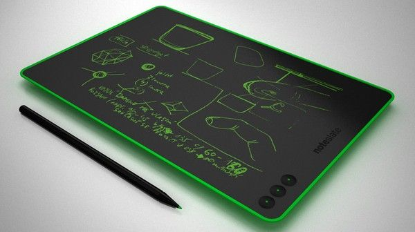 $99 concept NoteSlate tablet does electronic ink in color.