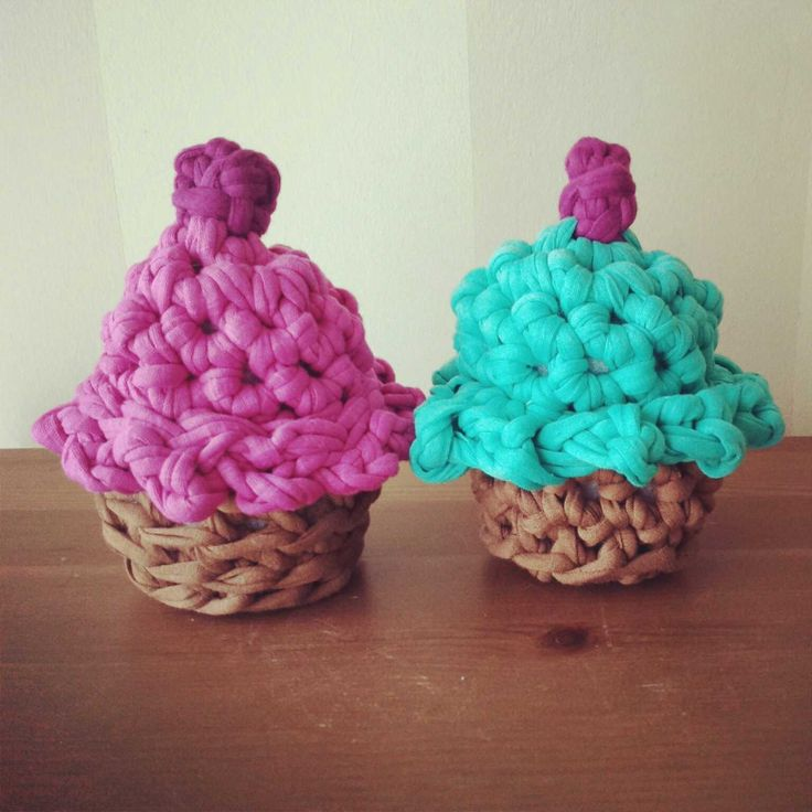 Tutorial Crochet Xxl : ... xxl-cupcakes-de-trapillo.html Tutorial crochet XXL. Cupcakes de