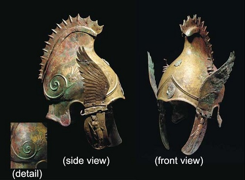I needed an eagle helmet, and this one from Mesopotamia is ...
