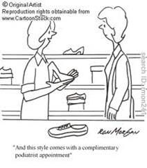 A lifetime of high heels will surely cause you to need our podiatry services.