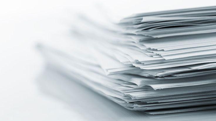 Separe os documentos necessários para realizar a IRPF