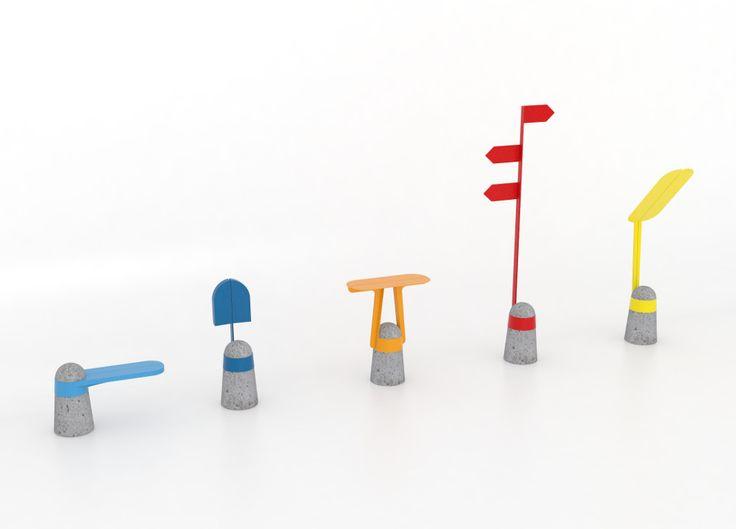 Boll mobilier urbain par Adrian Blanc