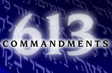 Jewish Rules: There are 613 commandments in the Torah, split into 14 books. These books mandate how Jews should live, and also shows the rules of Kosher and what they can eat. The topics of the 14 books are: knowledge, the love of god, seasons, women, holiness, oaths, seeds, service, sacrifices, purity, damages, acquisition, judgements, and judges. Judaism also follow the Ten Commandments.