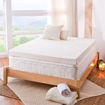 Walmart: Spa Sensations 4'' Memory Foam Mattress Topper, Use this for custom bunk beds in travel trailer maybe.