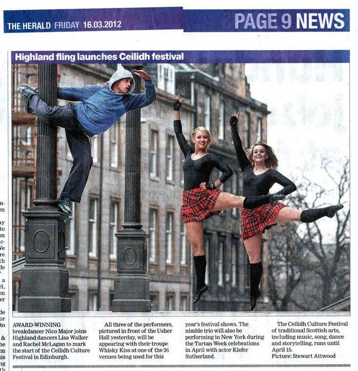 Highland Dance...choreography?
