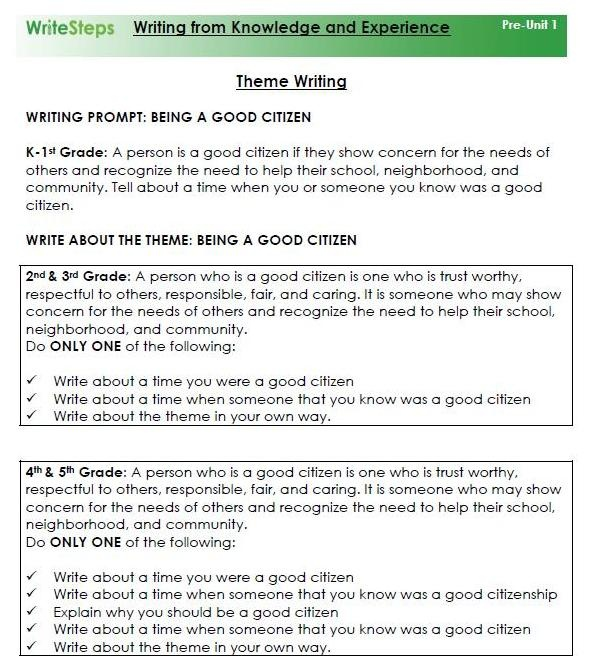 lesson 6 essay writing assignment This guide to teaching essay writing skills to esl classes ensures students first understand sentence types, connecting mechanisms, and structure.