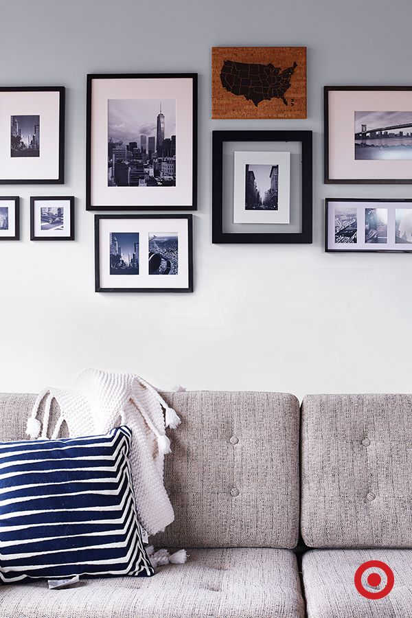 A Gallery Wall Is An Easy Way To Try Out Something New, And Black