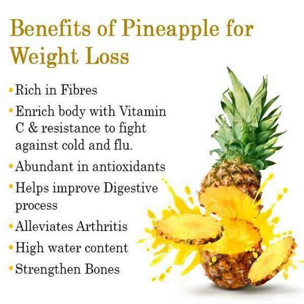 pineapple tea recipe for weight loss