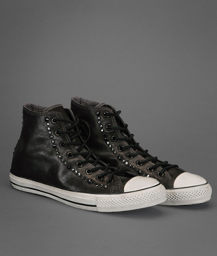 my John Varvatos studded converse shoes