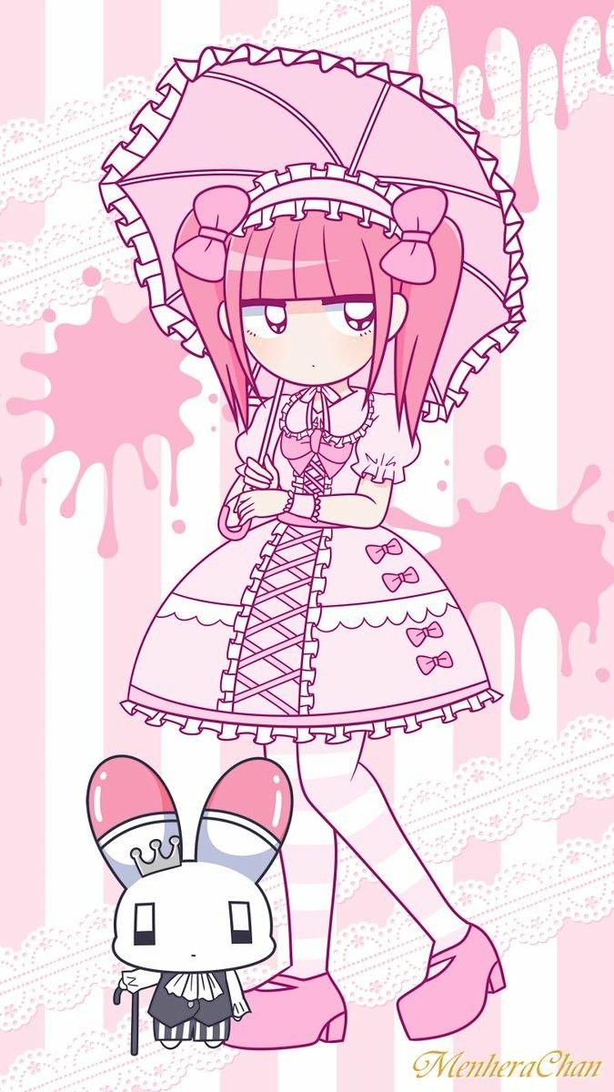 Pin By Deathlyrobotsfromouterspace On Menhera Chan Kawaii Drawings Cute Art Kawaii Wallpaper