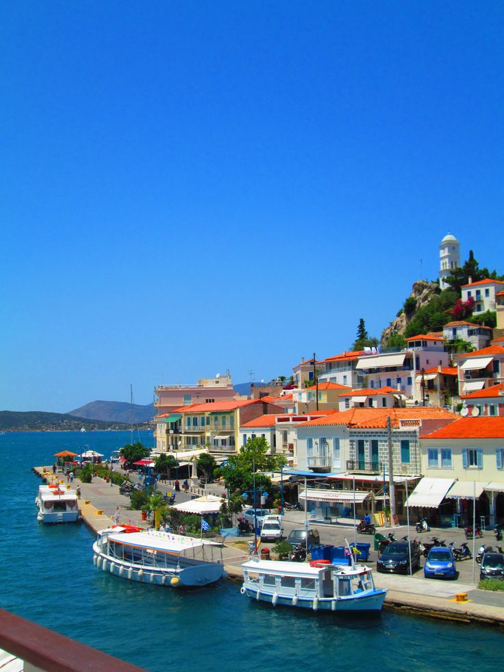 Poros, Greece - never forget this island dream!