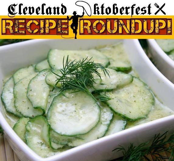 A good German cucumber salad (Gurkensalat) can't be beat in the summer!