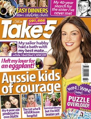 Take 5 - 8 May 2014 #magazines #magsmoveme  http://www.take5mag.com.au/