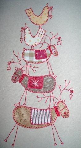 41 best scandinavian applique images on pinterest for Scandinavian christmas craft ideas