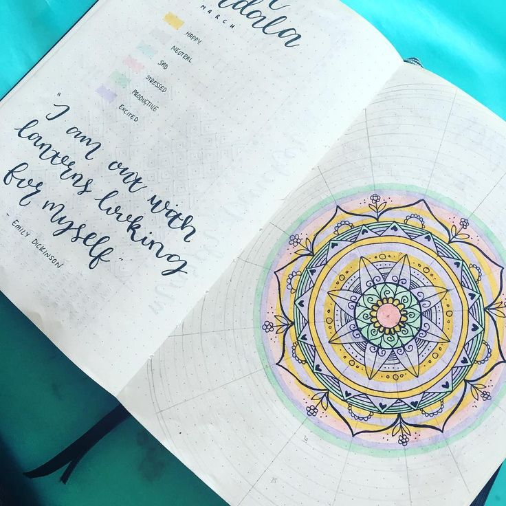 My march mood mandala progress so far. I love how even though I can have some crappy days, I look at this a find the beauty in it all. I love watching it grow everyday and it's always nice to appreciate the beautiful things in life #moodmandala #bulletjournal #tombowusa #mandala #leuchtturm1917 #bujobeauty #bulletjournalcollection #bulletjournaljunkies #personaldevelopment #mentalhealth #wellbeing