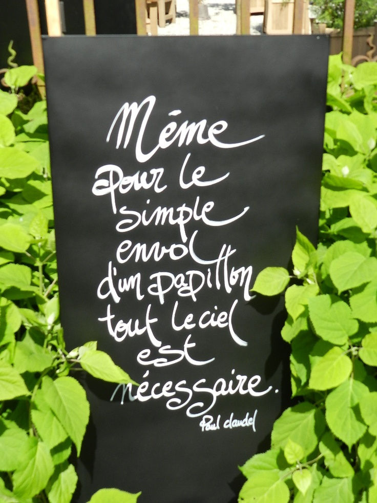 Les 101 meilleures images propos de citations by for Le jardin 3 vallons