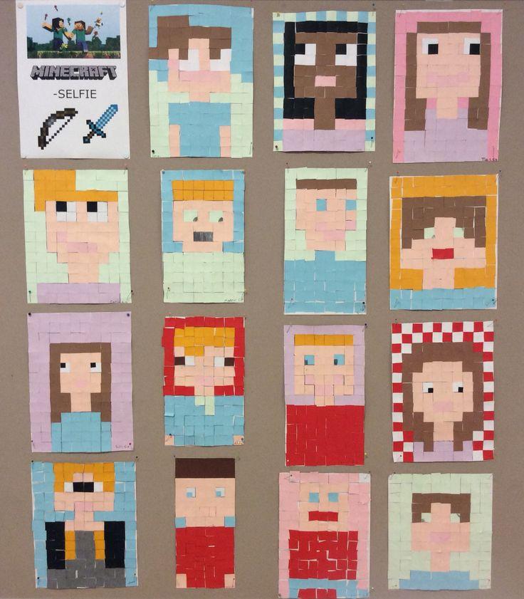 Minecraft-selfie