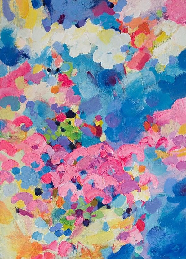 Sophie Abbott #colorful #abstract #art