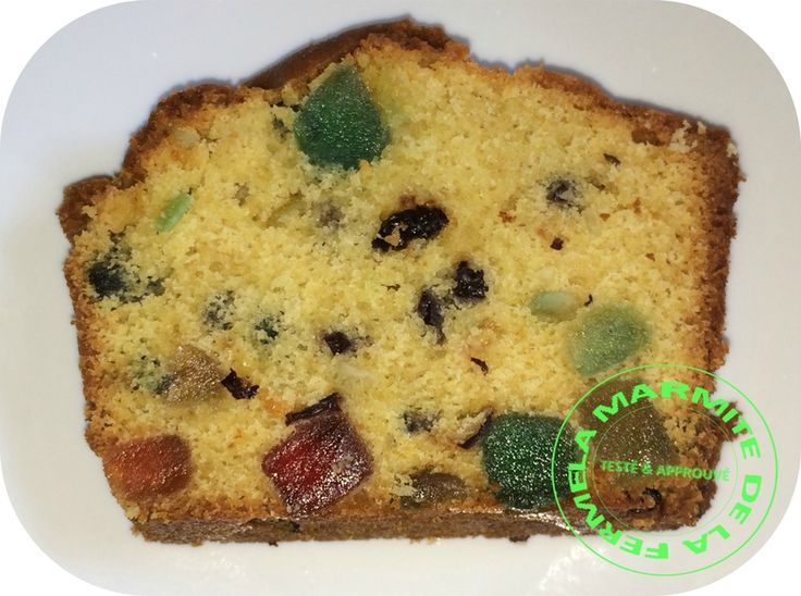 Cake aux fruits confits (Thermomix)