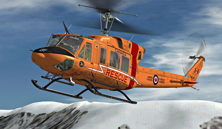 Royal Canadian Air Force Bell 212. This helicopter was in service with Royal Canadian Air Force, 424 Tiger Squadron/Rescue.