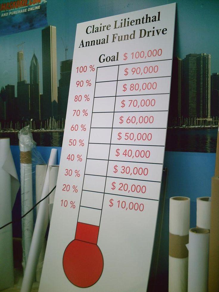 Goal Calendar Diy : Box top thermometer pto ideas pinterest places