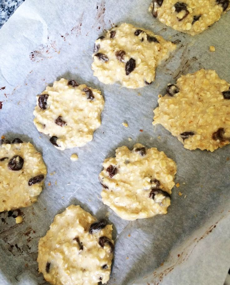 slimming world oat and raisin cookies
