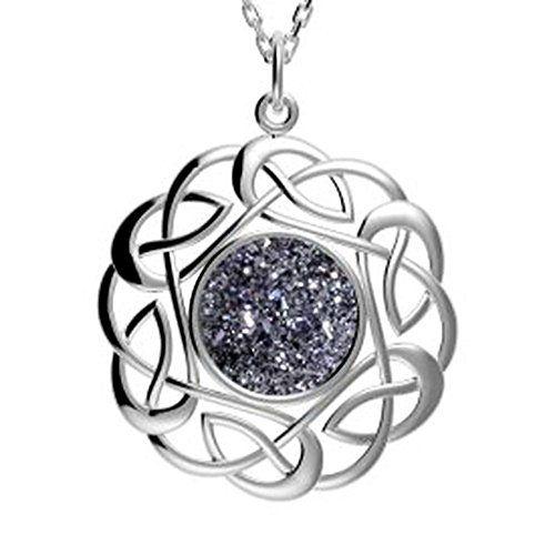 Irischer Schmuck Drusy Anhänger rund Silber keltischer Kn... https://www.amazon.de/dp/B00OZHMEG2/ref=cm_sw_r_pi_dp_x_U1zYxbWQX9P9G