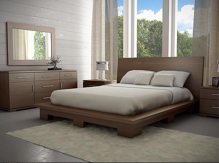 Meubles Gal260 Montreal Lit Bois Gal260 Meubles Montreal Chez Meubles Ca Bed Furniture Design Bedroom Furniture Design Bed Design