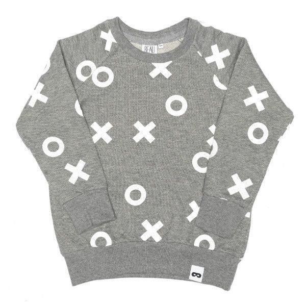 Beau Loves - XO Raglan Jumper – Mini & Beau