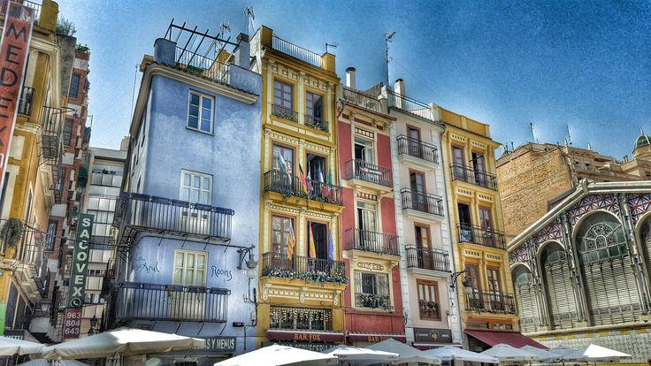 Valencia old market.
