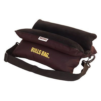 "Bulls Bag/Uncle Buds 1705 Bench Rest Poly/Sued w/Carry Strap 15"" Black"