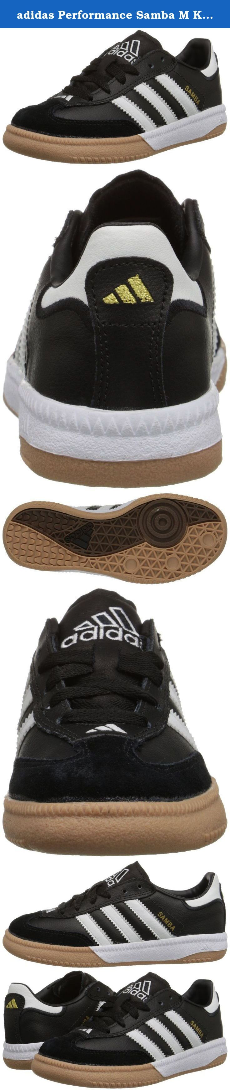 adidas Performance Samba M K Indoor Soccer Shoe (Little Kid/Big Kid). Kids Soccer Shoe.