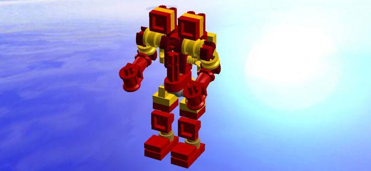 Lego Real steel mini Twin Cities