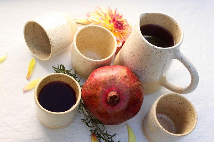 Sangria time, Homestead Series jug - Stinging Nettle Studio
