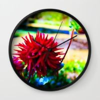 Red Wall Clock Keep time with stylishly designed wall clocks.