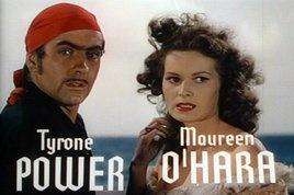 Top Ten Irish actors: It's a matter of character. Maureen O'Hara #4Maureen Ohad, The Black Swan, Swan 1942, Ohara Forever, O' Hara Forever, Black Swan Cisne, Black Swancisn, Tyrone Power, Maureen'S Sin