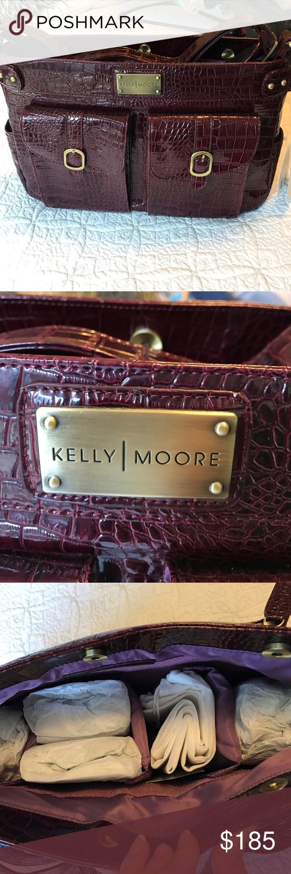 Kelly Moore Camera bag Crocodile purple Kelly Moore camera bag kelly moore Accessories