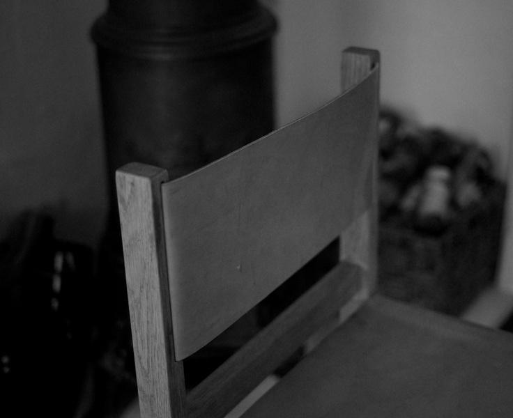 Leather Oak chair | NH oslo