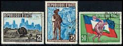Haiti 448-450 Stamps 3rd Pan Am Games Stamps C HAT 448to450-2 CTO