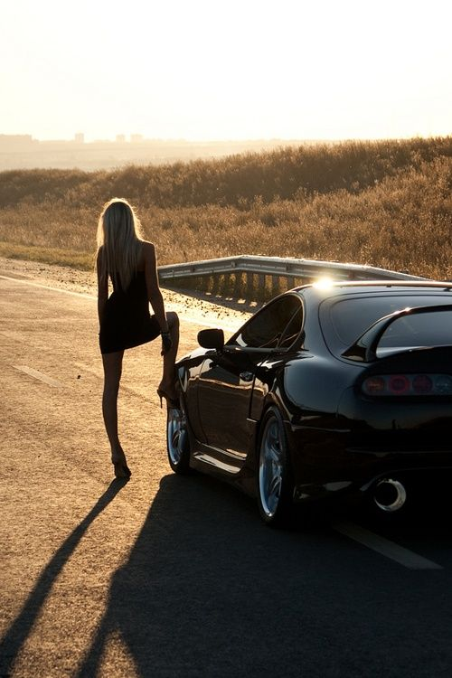 Toyota Supra Fast And Furious 5 Piece / Panel Canvas Wall